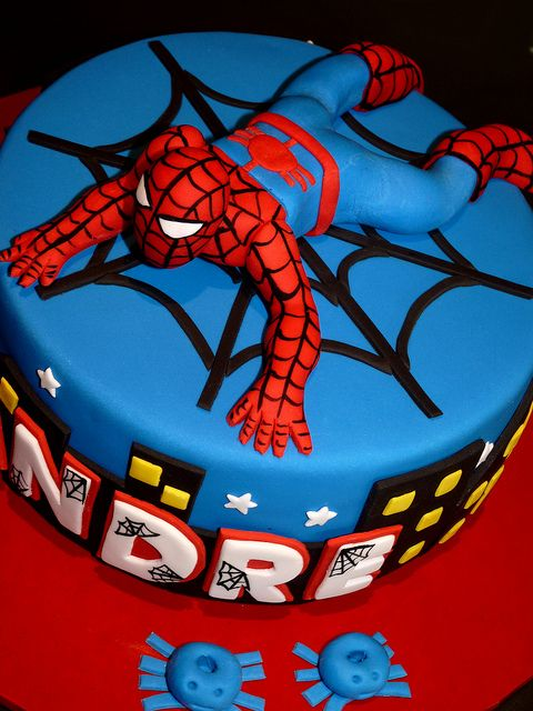Images For Spiderman Cake : Spiderman Cake Mica Pinterest Birthdays, Cakes and ...