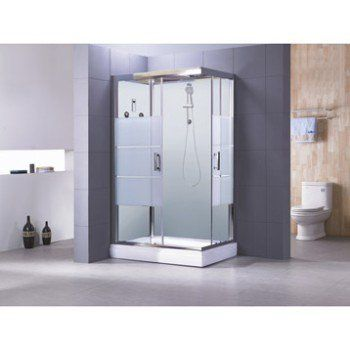 best 25+ cabine de douche rectangulaire ideas on pinterest, Badkamer