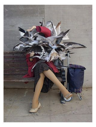 Lady of the Gulls by Banksy (Canvas) by Jaxson Rea at Gilt