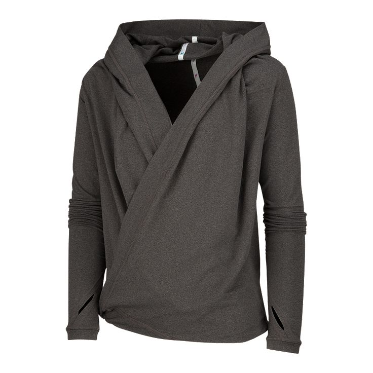 Wear this super soft and lightweight Diadora Girls' City Girl Shrug Shirtwith or without a hood, shawl collar style, or turn it upside down for a cropped shrug look.