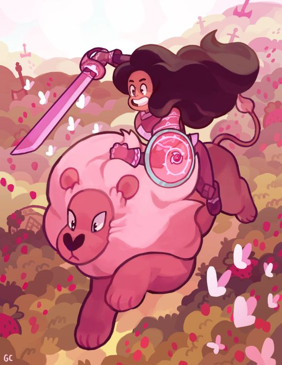 Little Lady Knight | Connie & Lion | Steven Universe | Cartoon Network