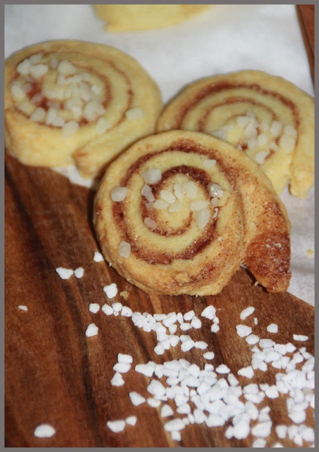 Butter-Zimt-Schnecken