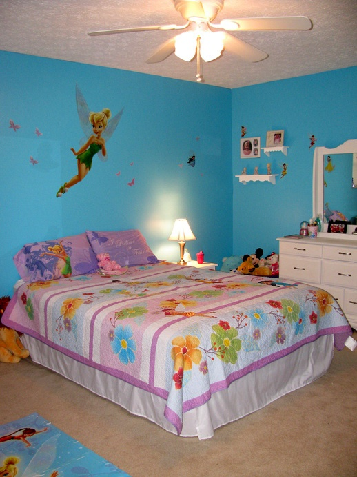 disney fairy bedroom for 3 year old