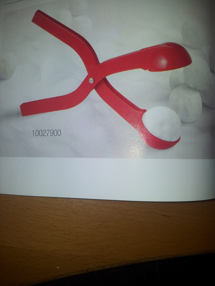 New branded snowball makers :-)