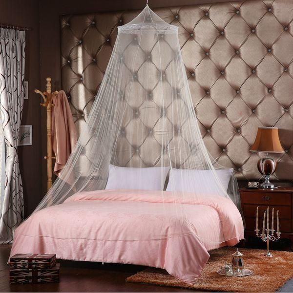 Zanzariera bianca per letto