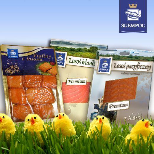 Easter promotions #łosoś #easter #salmon #suempol #panłosoś #produkty #products