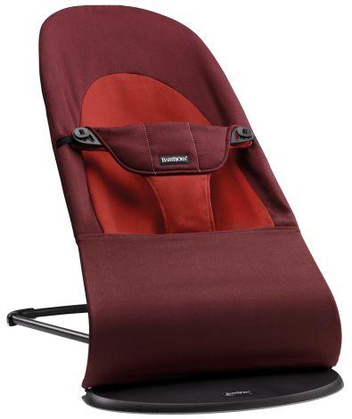 Transat Balance Soft de BabyBjörn    Transat ergonomique avec une très longue durée d'utilisation Peut être utilisé en chaise berçante pour bébé Offre un soutien adéquat pour la nuque et le dos des tout-petits Bercement naturel sans besoin de piles Convient de la naissance jusqu'à l'âge de 2 ans