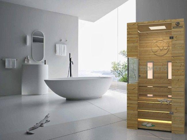 Sauna design by Katalin Ercsényi - Pivot270 art director