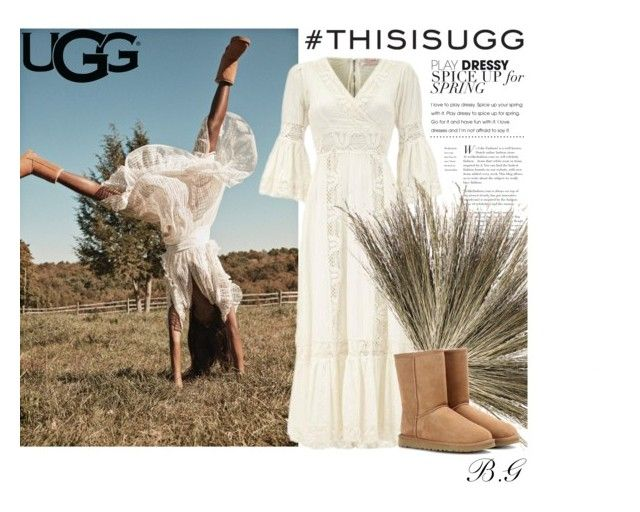 Spring in UGG by brookey-g on Polyvore