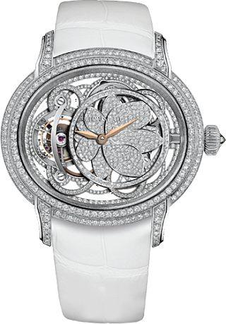 4440ac68be2 WEB LUXO - Alta Relojoaria  Audemars Piguet lança relógio feminino  inspirado na beleza da flor