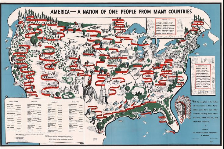 Revisit the 1940 Map of American Diversity