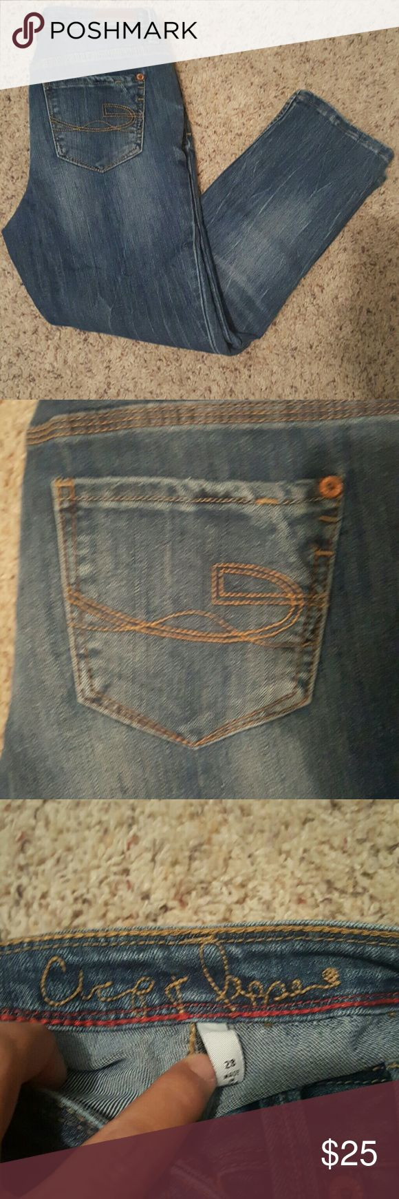 Jean capris Chip & Peppa jean capris Chip & Peppe Jeans Ankle & Cropped