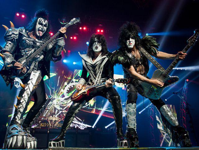 Kiss celebra en Barcelona 40 años de vida