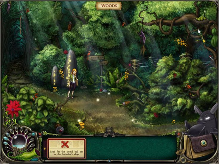 The Best Hidden Object Games You'll Find Online: Brunhilda and the Dark Crystal
