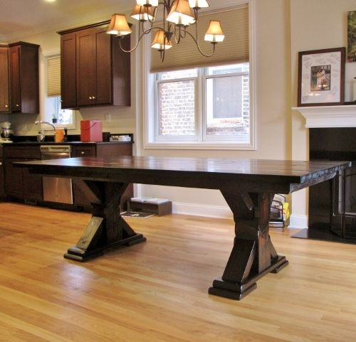 Popular Table Collection   Rustic Elements Furniture Chicago
