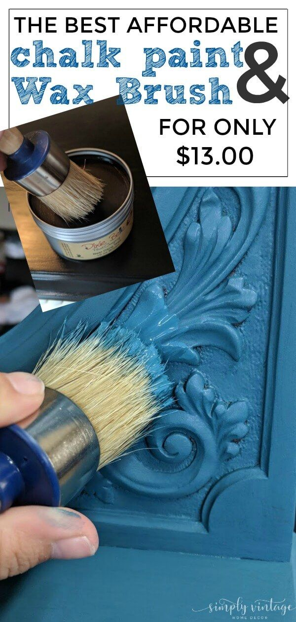 Trick To Applying Dark Wax Over Chalk Paint On Furniture Painted Furniture Ideas Paint Furniture Chalk Paint Furniture Redo Furniture