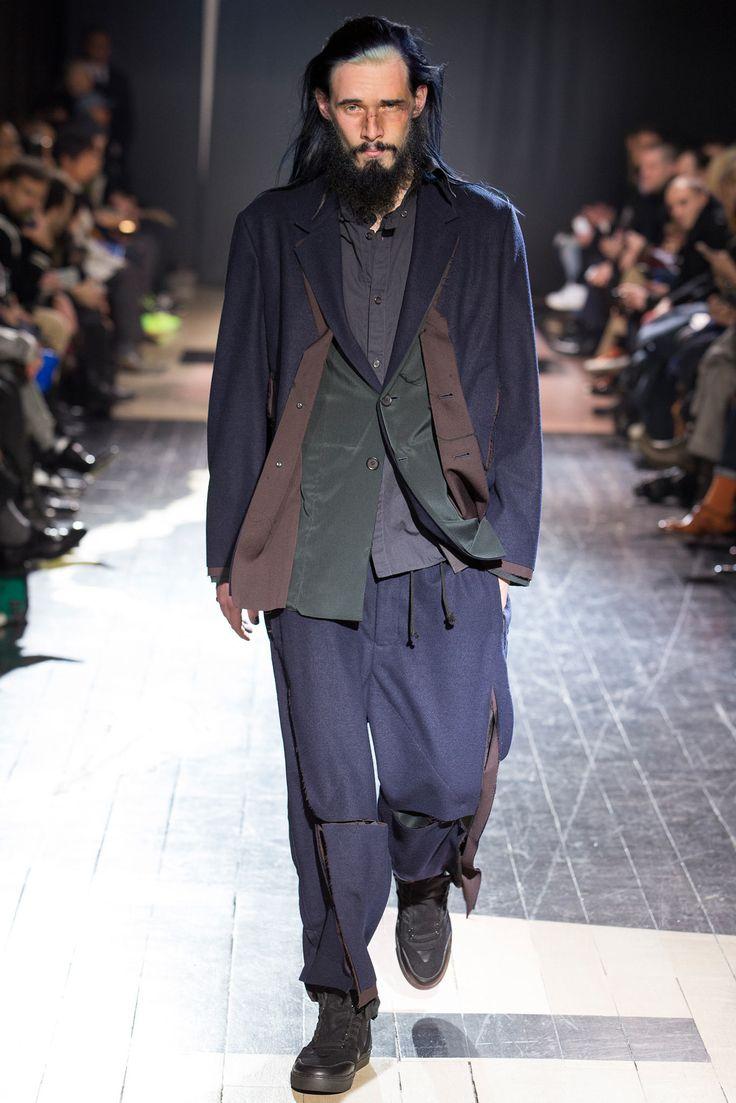 Yohji Yamamoto Fall 2015 Menswear Fashion Show