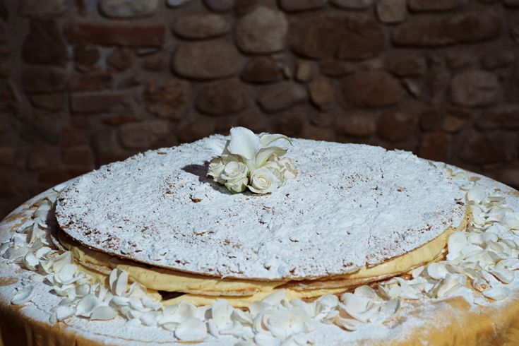 Millefoglie - The Italian Wedding cake