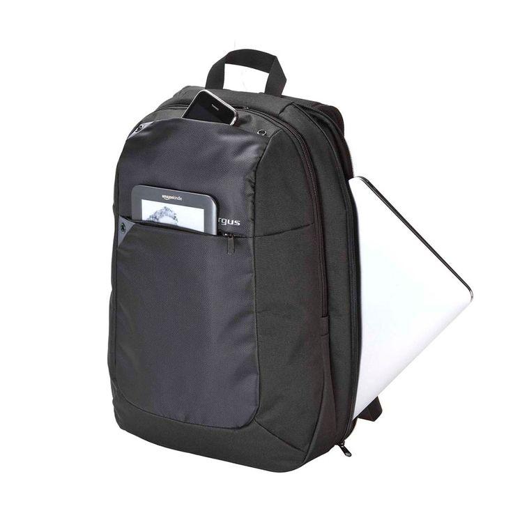 Morral para portatiles con varios compartimentos, compartimineto principal separado y adecuado para portatil de hasta 16 pulg, Bolsillo lateral y frontal para almacenamiento de documentos.