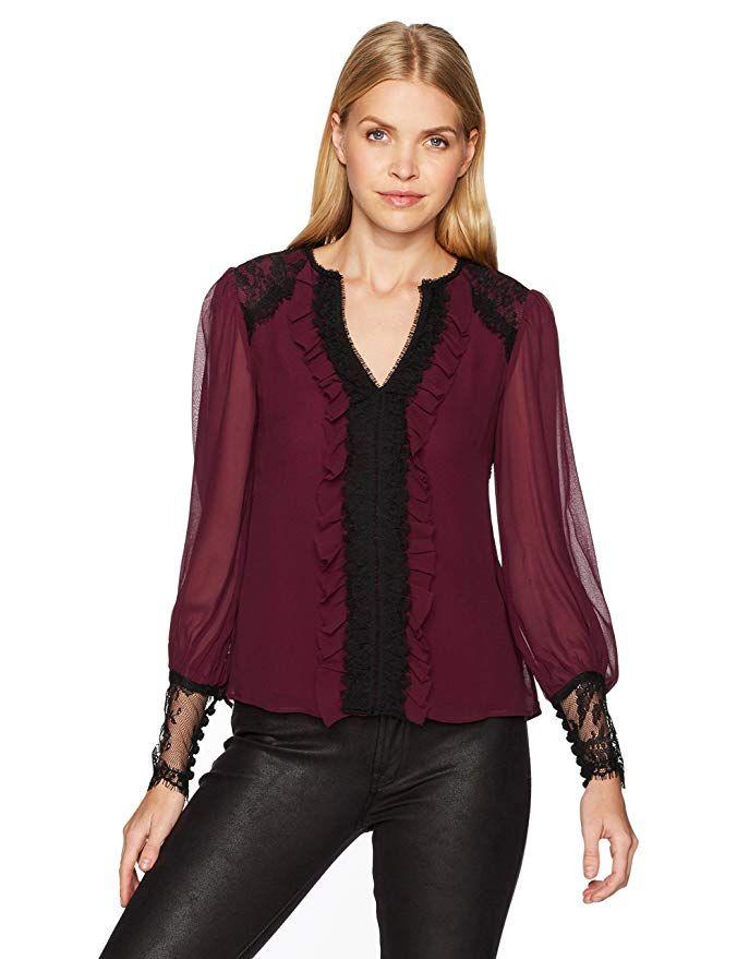 4978089e6b919d Nanette Lepore Women's Henrietta Blouse in 2019 | Shirts | Blouse ...