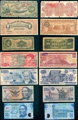 20 pesos mexicanos http://1.bp.blogspot.com/-iJbxFvu0Hwo/UOwQtu437SI/AAAAAAAAO7o/sMNaVouewk8/s1600/billetes+de+20+pesos+mexico+.jpg