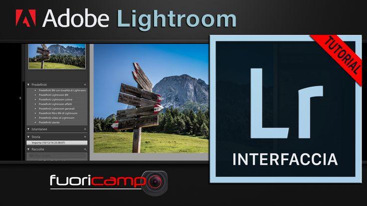 Tutorial Lightroom - CC #1 INTERFACCIA Prima di cominciare a usare Adobe Photoshop Lightroom, diamo un'occhiata all'interfaccia e impariamo a muoverci nel suo ambiente di lavoro, per essere subito produttivi.