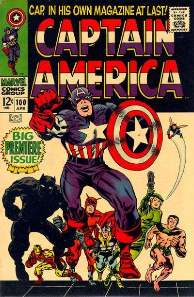 captain america comic book photos | Pop Culture Safari!: Classic Captain America comic book covers