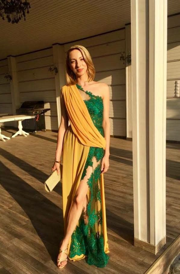 """Rochie de seara #68 Prima rochie din colectia """"Brillant"""" a fost deja achizitionata si purtata de o clienta extrem de multumita :)"""