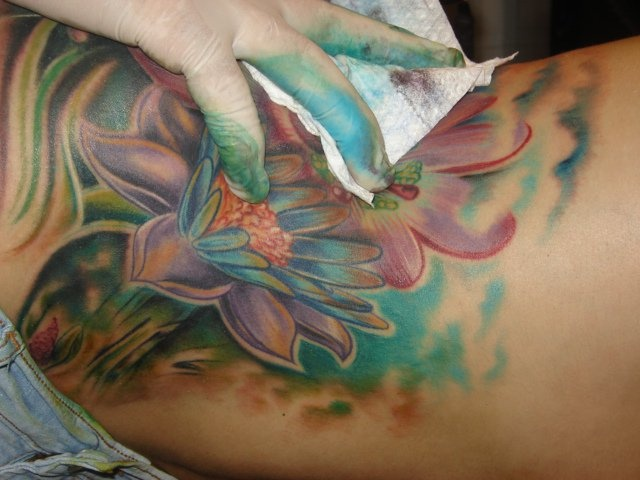 Lotus & passionflower