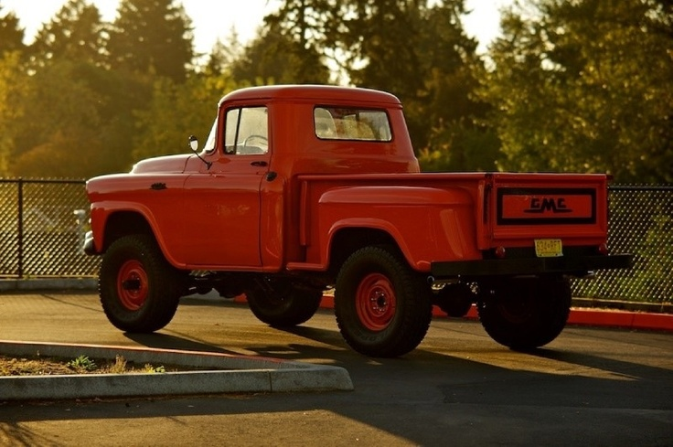 '58 GMC 4x4.  there is just something about a side step...mmmmm