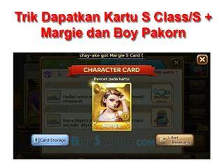 Tutorial Android Indonesia: Tips Trik Dapatkan Kartu S/S+ Margie Dan Boy Pakor...