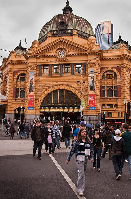 Australia-19 | Flickr – Compartilhamento de fotos!  Flinders st Station  Melbourne