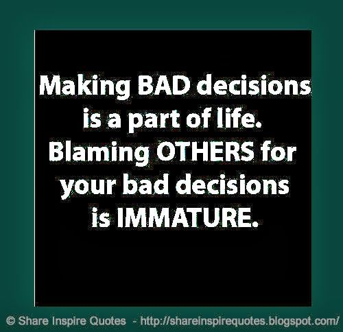 Make Your Own Decisions Quotes: Best 25+ Blaming Others Quotes Ideas On Pinterest
