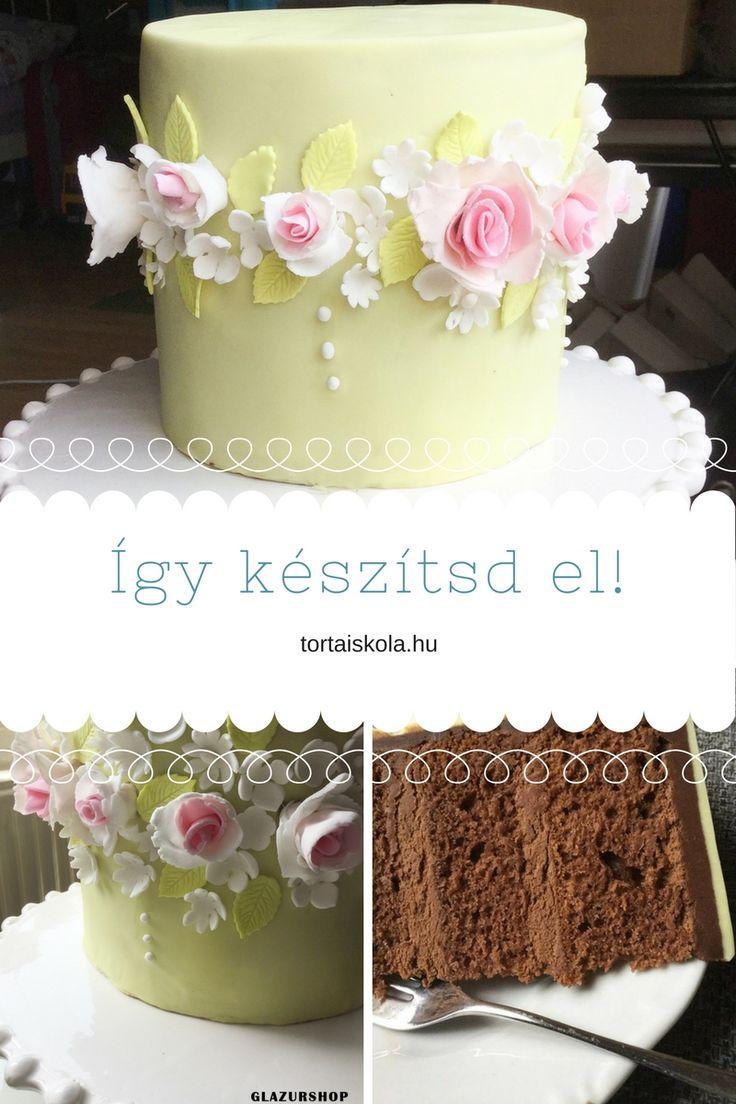 Én… soha…soha többet nem döntök ennyire elsőre… Olyan szép volt a torta a pinteresten, másik kettővel meg is osztottam a GlazurShop fb oldalán, a szokás szerinti szavazásra, hogy …