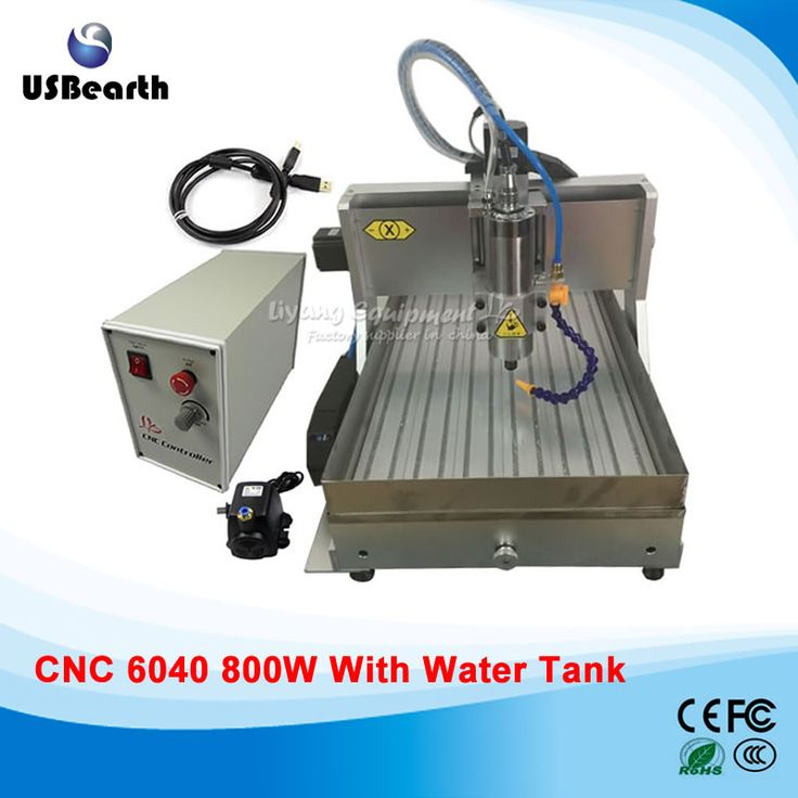 ==> [Free Shipping] Buy Best stone engraving cnc router 6040 800w spindle usb cnc egraving machine mini cnc milling machine with water tank Online with LOWEST Price | 32734319337