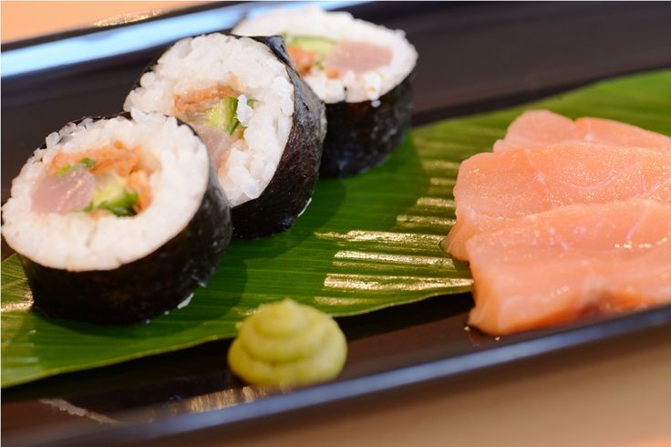 Freshly prepared Sushi...