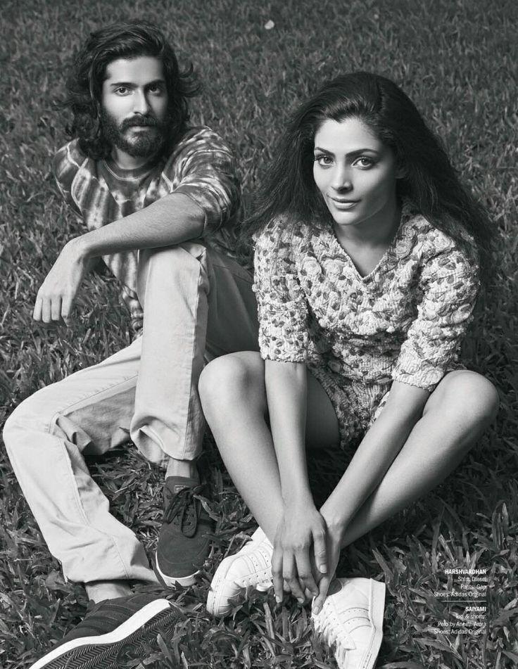 harshvardhan kapoor & saiyami kher  in filmfare magazine 2016