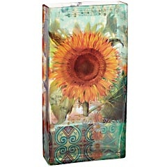 Everyone needs a rectangular vase with a sunflower on it, yes?