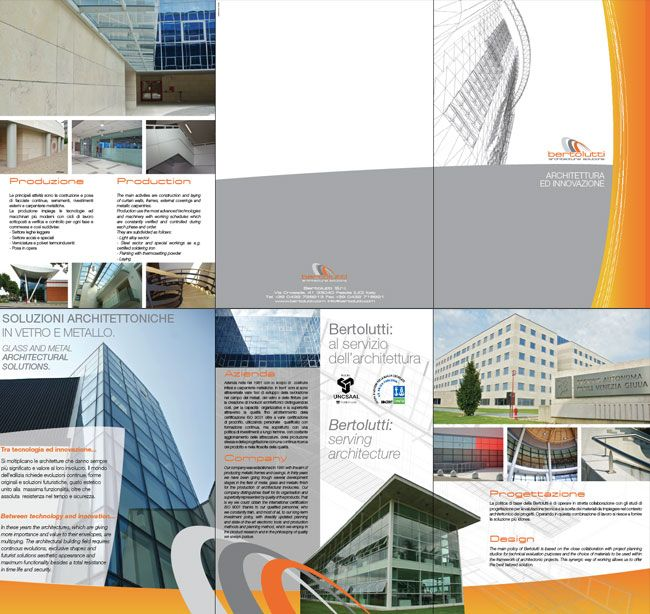 Brochure aziendale Bertolutti