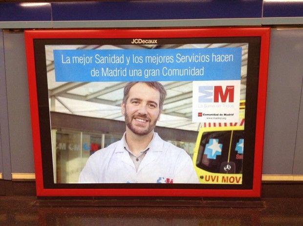 C. de Madrid, tras recortar el 35,6% en sanidad las urgencias están saturadas, y para niños bien alimentados no recortes las becas comedor!