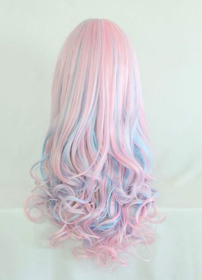 Nice Colored Hair with Curls at the Ends | Long Hairstyles ...