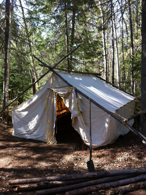 Tent prospector innu c&ement getting ready for goose hunting season & 9 best Tent prospector images on Pinterest | Tents Bays and A child