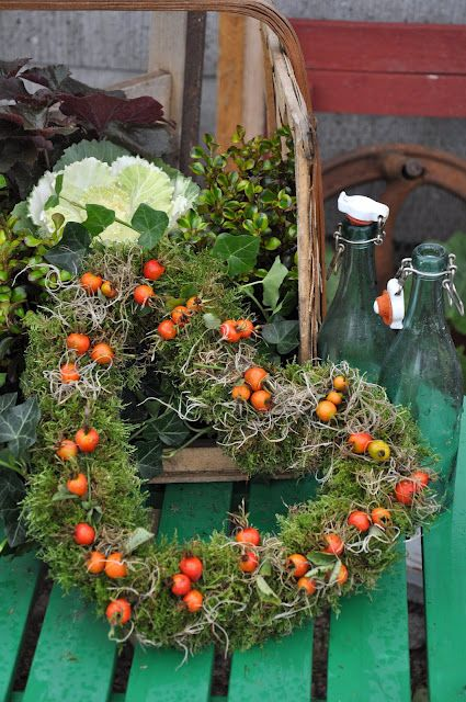 heart wreath....