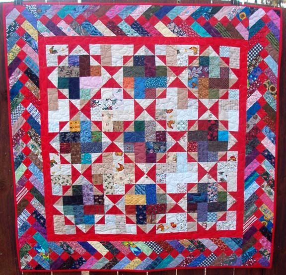 Braided Quilt Border Pattern Home : 17 Best images about Quilts - Bonnie Hunter quilts with tutorials on Pinterest Trips, Around ...