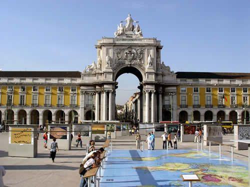 Commerce Square. Lisbon.