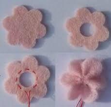 Slikovni rezultat za flor de feltro