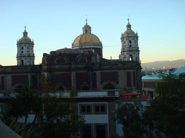 sancarlosfortin: amanecer en la villa de guadalupe en el tepeyac en...