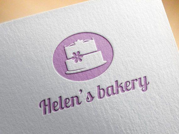Premade Bakery Logo Template Bakery Logo Design Cake by RageRabbit