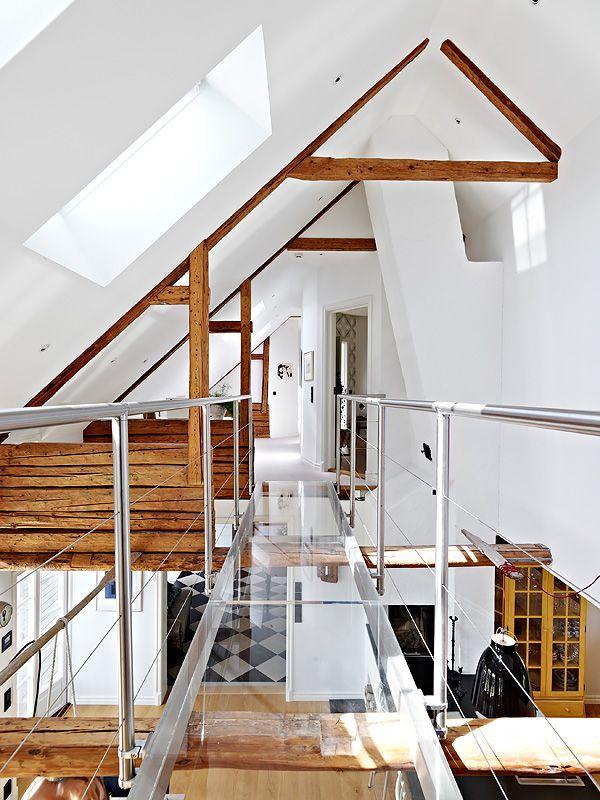 M s de 1000 ideas sobre techos de vigas en pinterest - Vigas madera techo ...