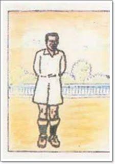 Prats. Real Madrid. 1931-32. Campeón de Liga. Medio derecho.